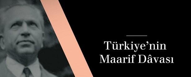 Türkiye'nin Maarif Davası Kitabı Hakkında