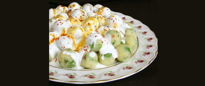 Ev Hali / Yoğurtlu Patates Topları